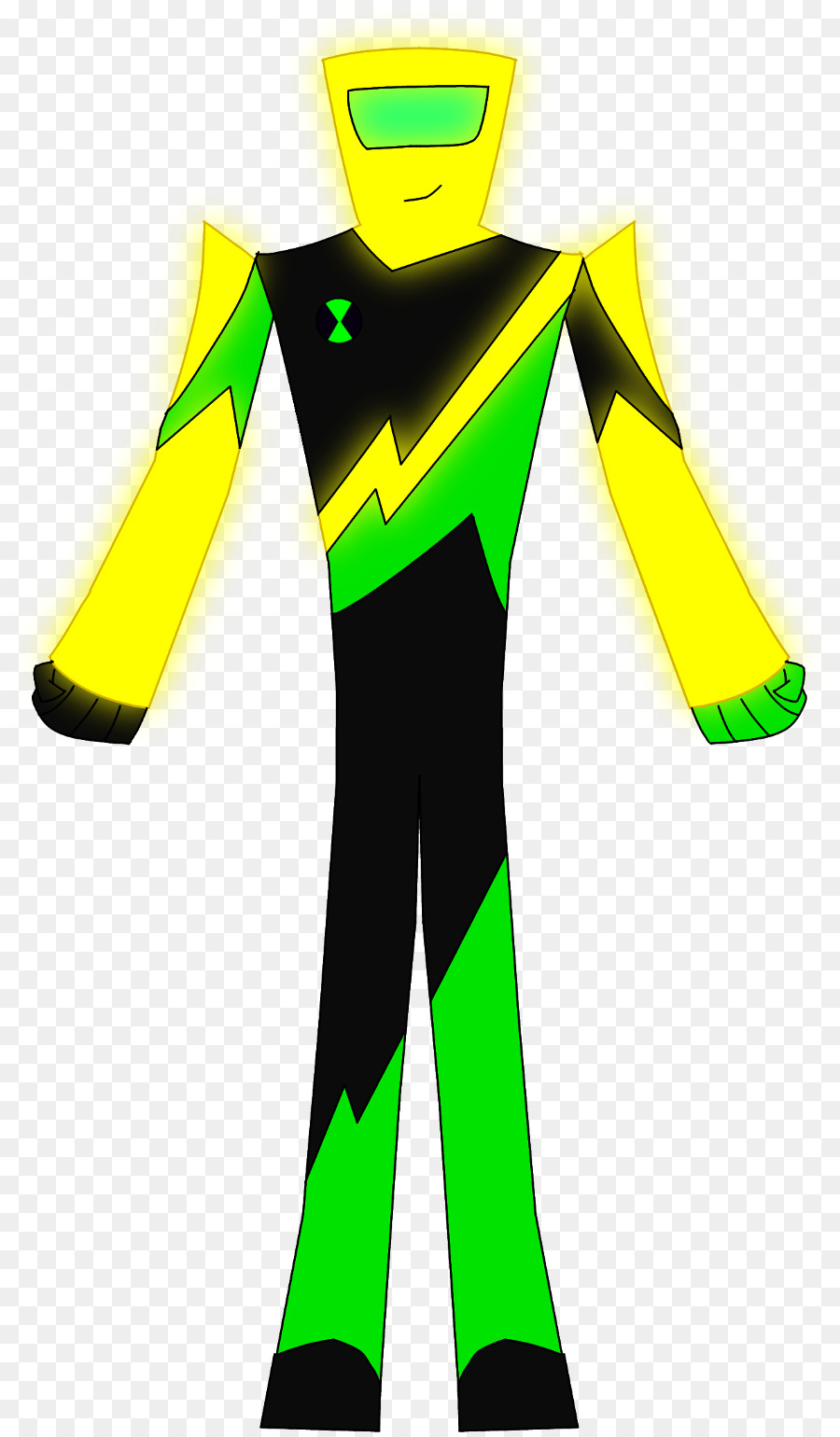 900x1540 Clothing Yellow Green Sleeve Wetsuit
