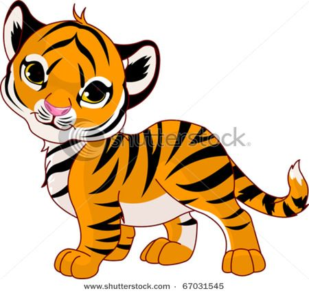 450x427 Cute Tiger Clip Art Vector Clip Art Picture Of A Very Cute Baby