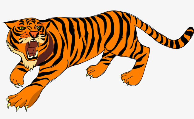 650x400 Ferocious Tiger, Ferocious, Tiger, Pattern Png Image And Clipart