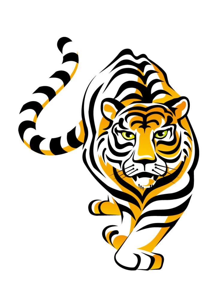 724x1024 Tiger Animals Clipart Images (40 Pics)