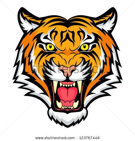 450x470 Tiger Head Clipart Amp Look At Tiger Head Clip Art Images