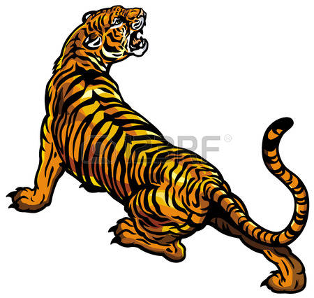 450x426 Tiiger Clipart Real