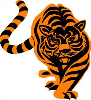 318x350 Tiger Paw Clip Art Cool Tiger Clipart) Tiger Paws