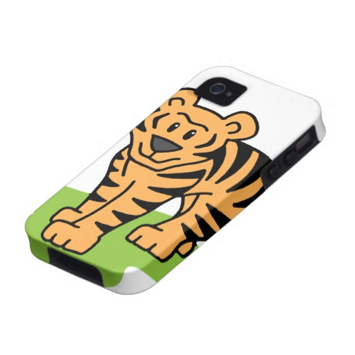 512x512 Bengal Tiger Cartoon Clipart
