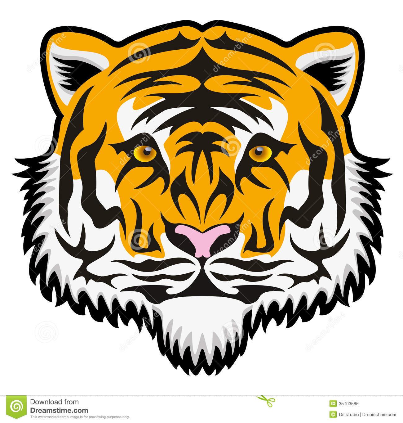 1300x1363 Bengal Tiger Face Clipart