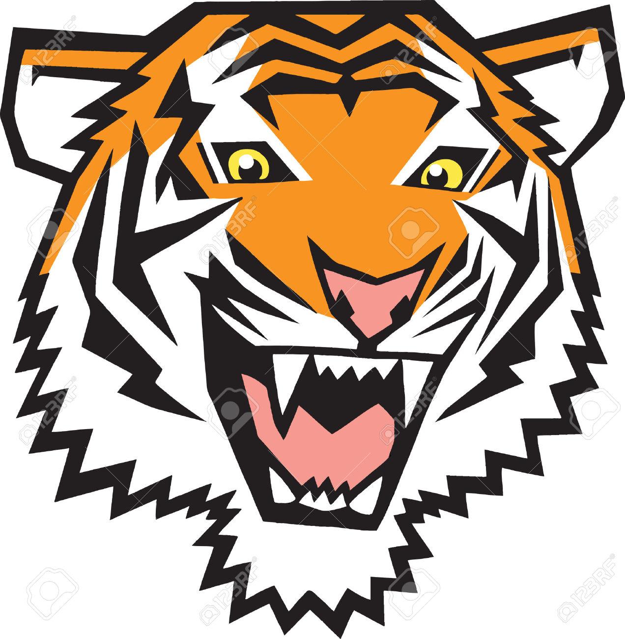 1272x1300 Bengal Clipart Tiger Head
