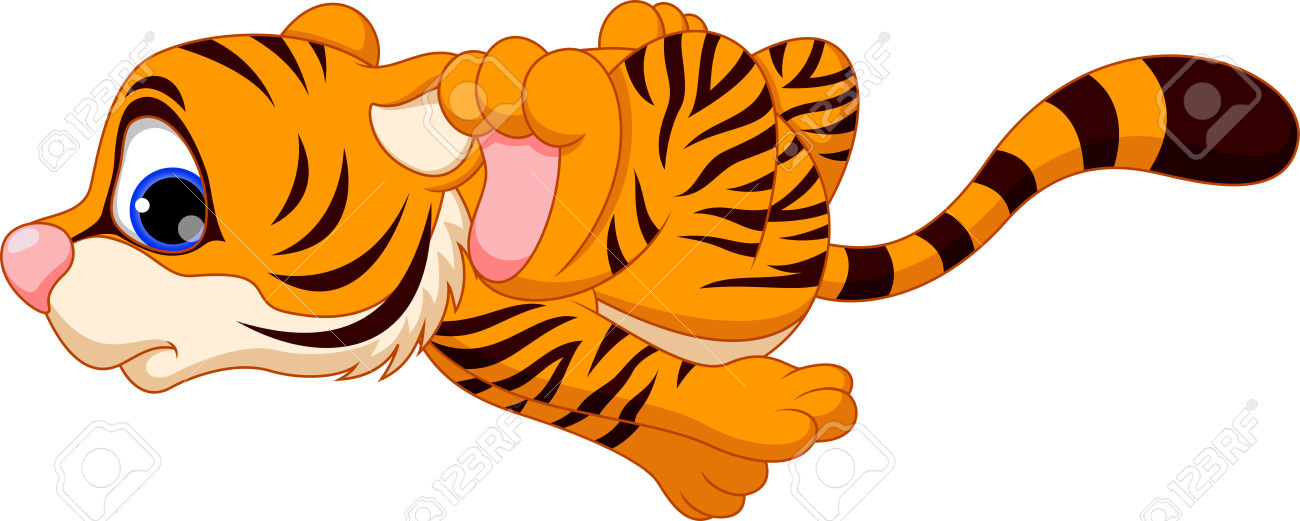 1300x521 Bengal Clipart Baby Tiger