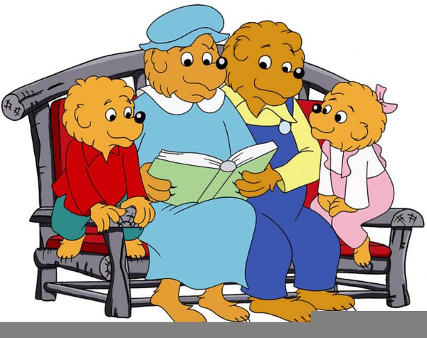 600x475 Berenstain Bears Clipart Free Images
