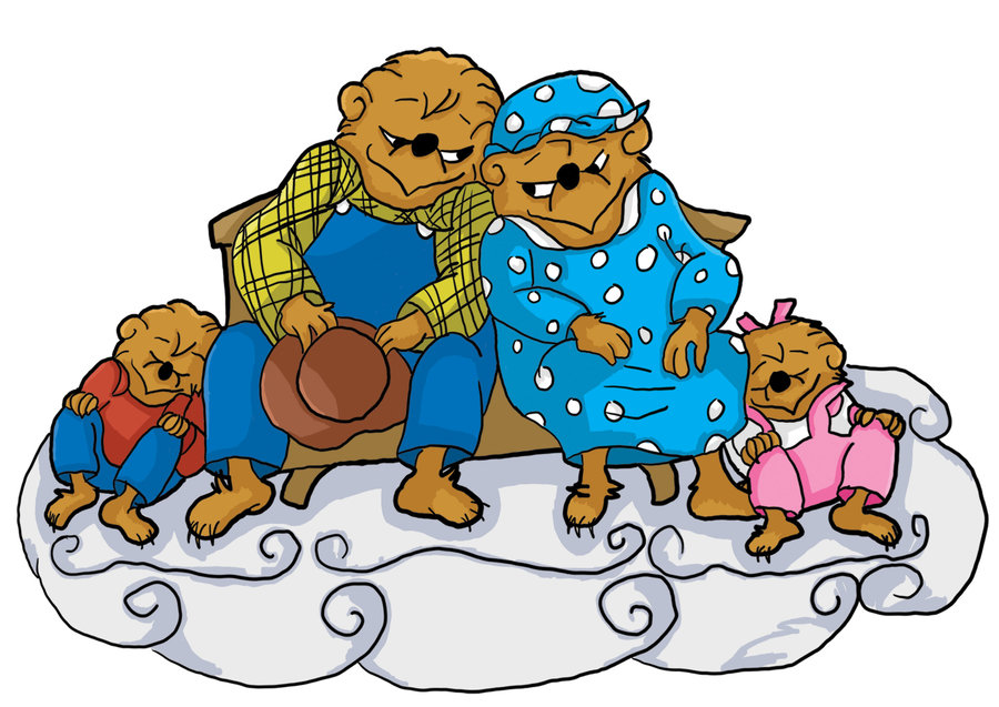 900x637 Berenstain Bears Fanart By Jmq
