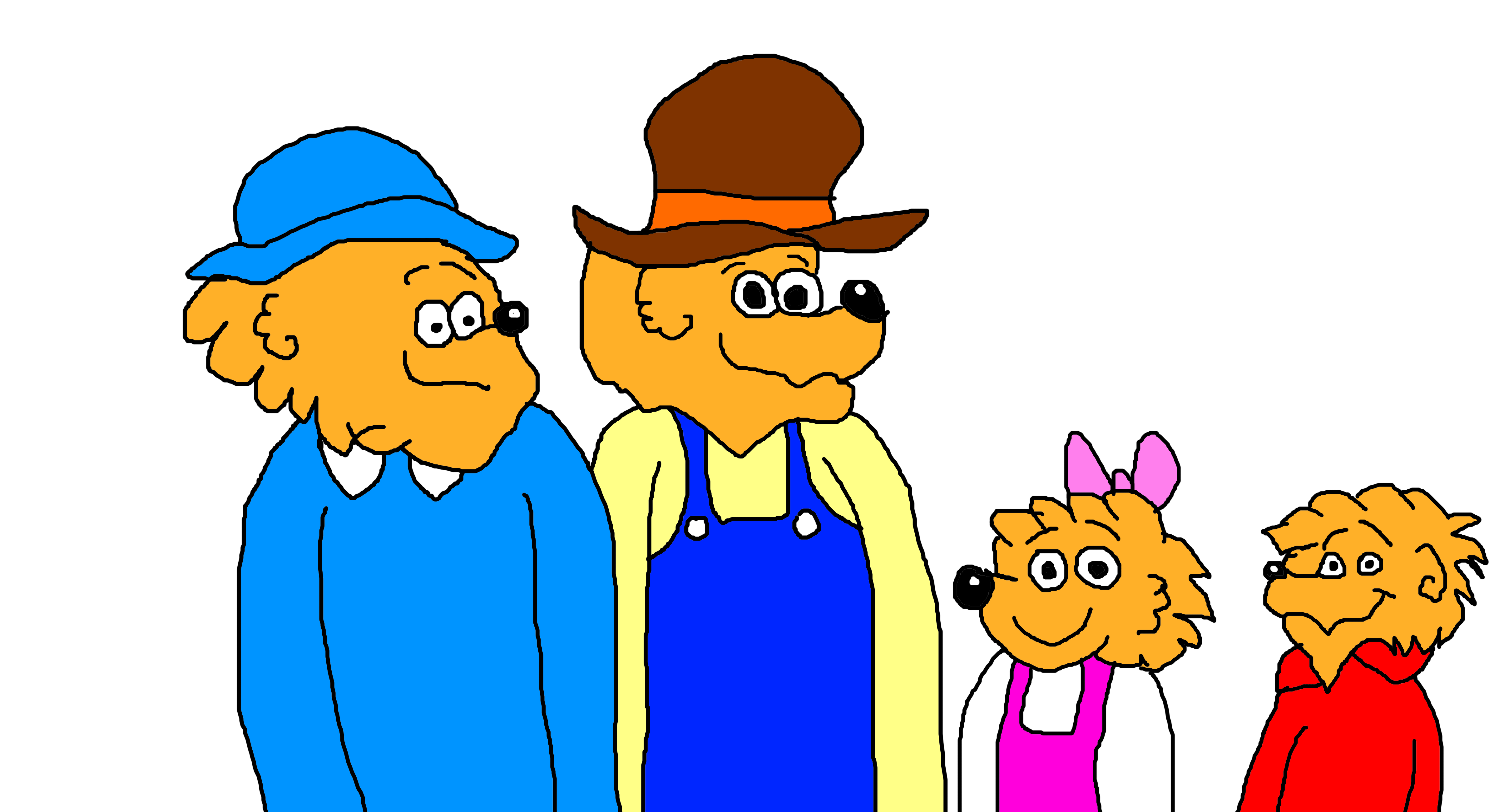 4800x2600 The Berenstain Bears By Mikejeddynsgamer89