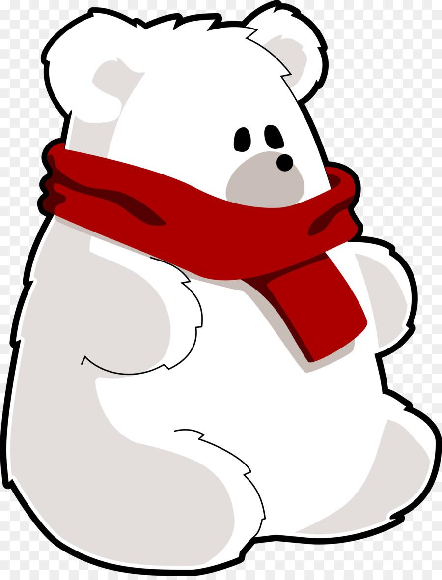 900x1180 Baby Polar Bear Teddy Bear Clip Art