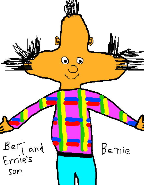 504x648 If Bert And Ernie Had A Genetic Child Together.