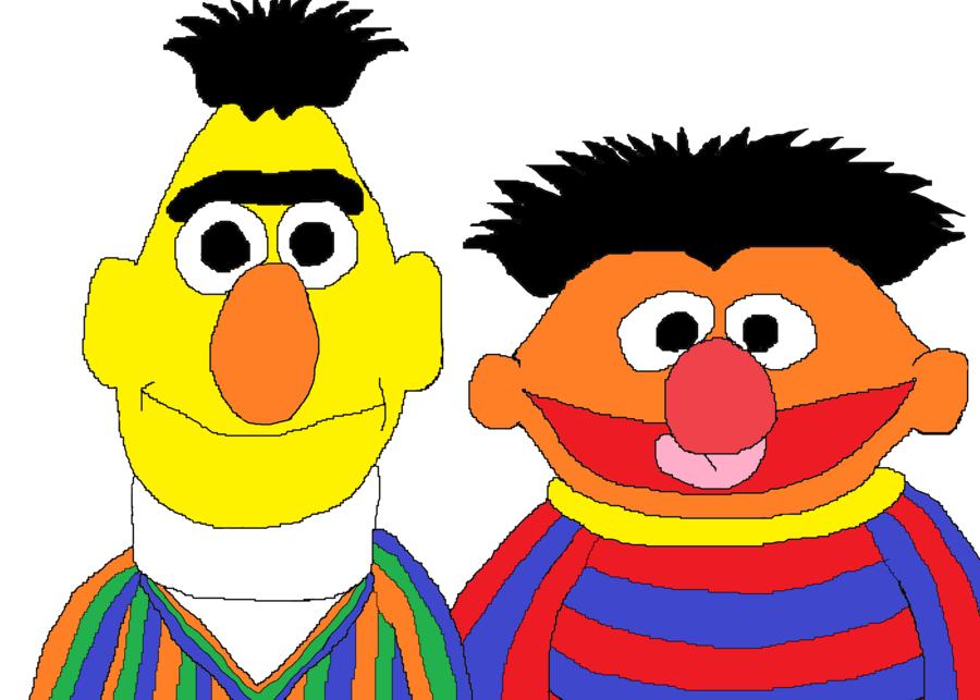 900x643 Sesame Street Ernie And Bert By Bigpurplemuppet99