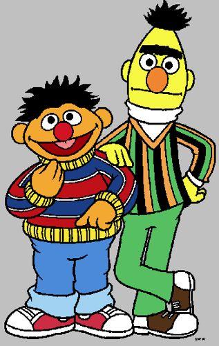 317x500 Clipart Bert + Ernie 2 Art Clipart, Clip Art And Sesame Streets
