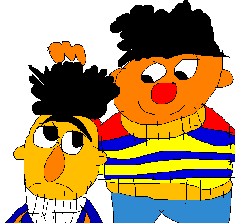 774x732 Bert And Ernie Again By Garfieldatejon2015