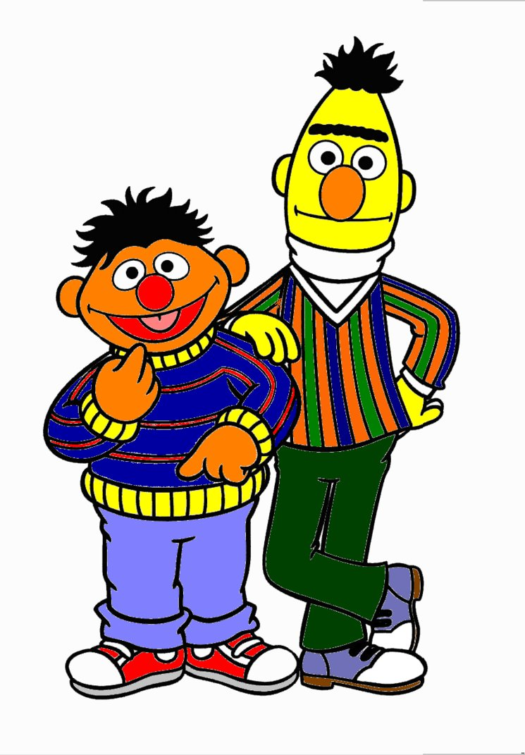 745x1071 Bert And Ernie By Kuonapower