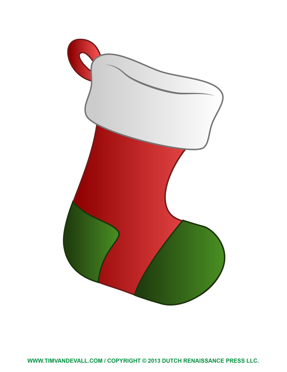 927x1200 Cat In Stocking Christmas Clipart