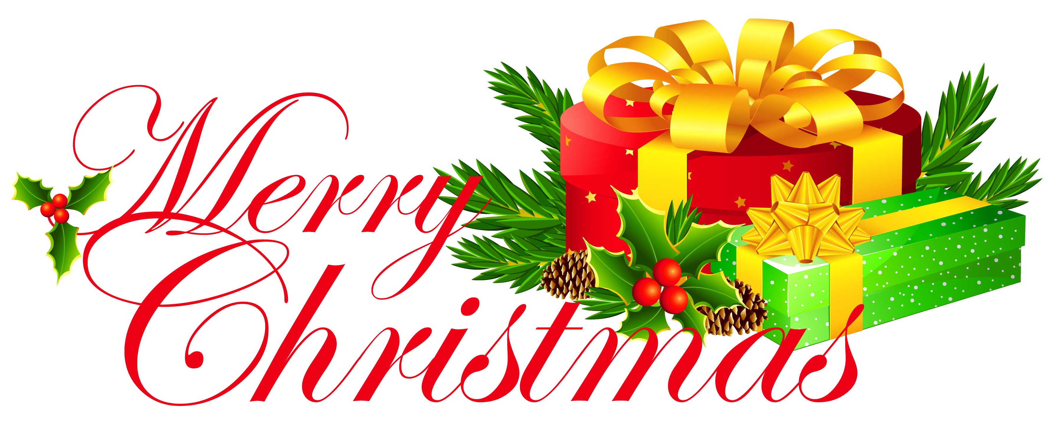 3565x1427 Clip Art Clip Art Merry Christmas