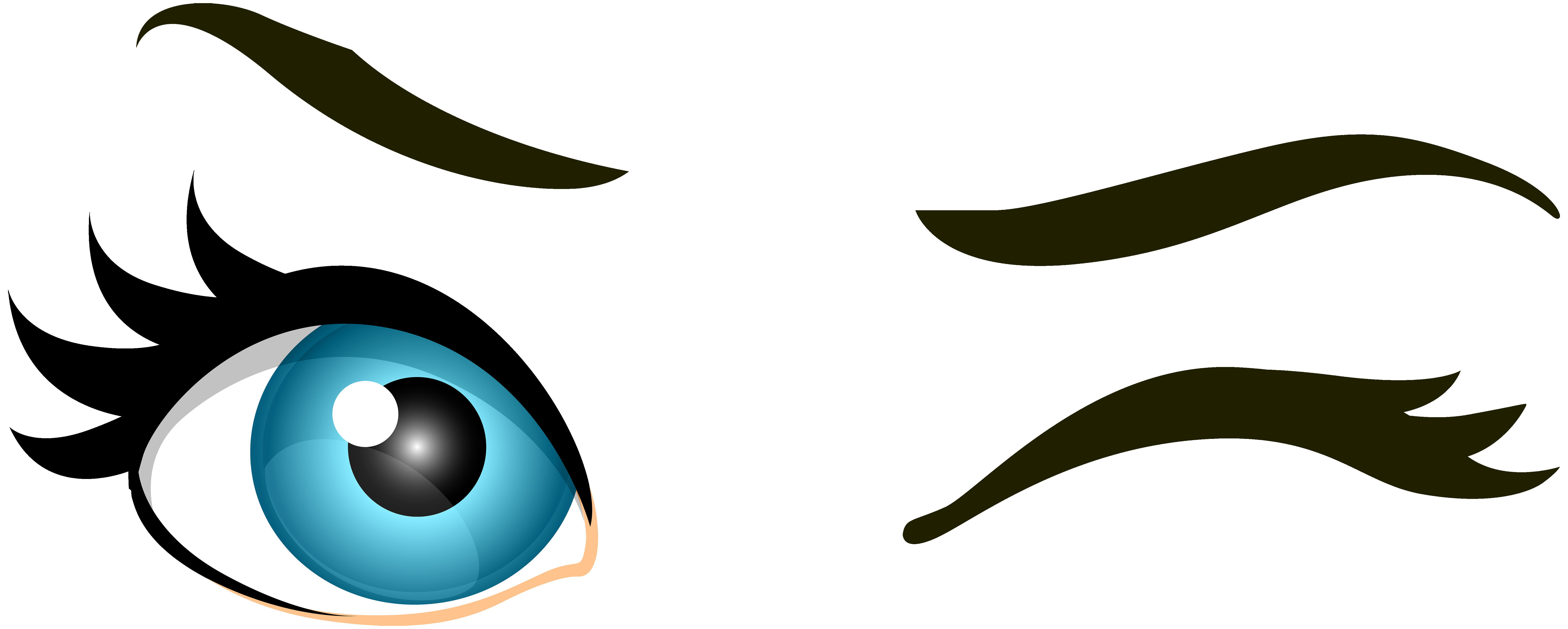 7000x2809 Blue Female Eyes Png Clip Art Best Web Clipart Beautiful