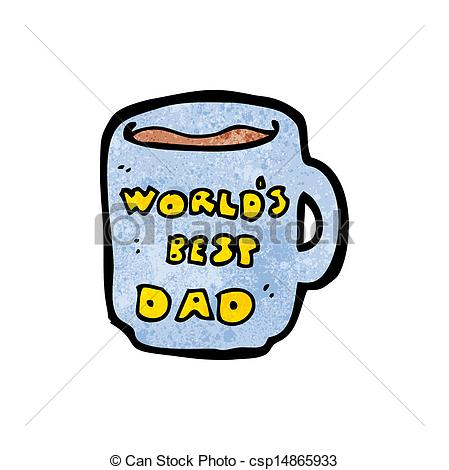 449x470 Worlds Best Dad Mug Vectors
