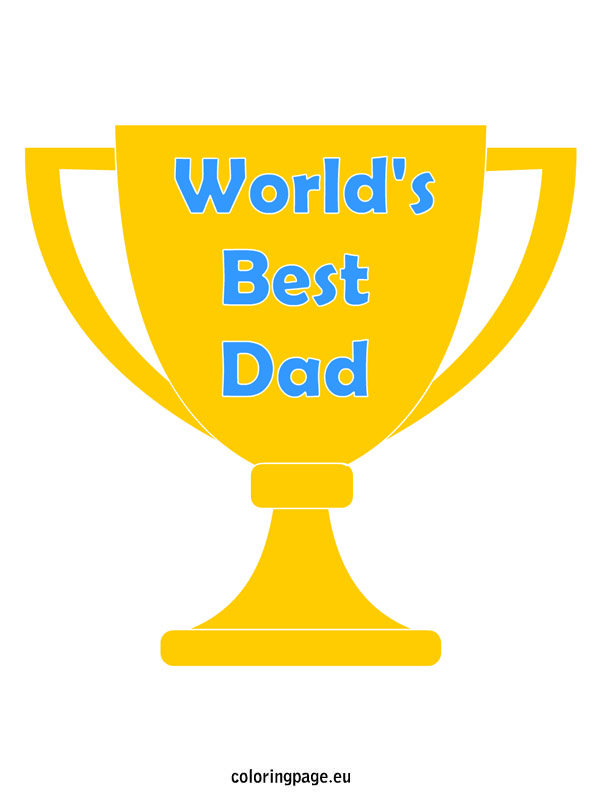 595x804 Trophy Clipart Dad