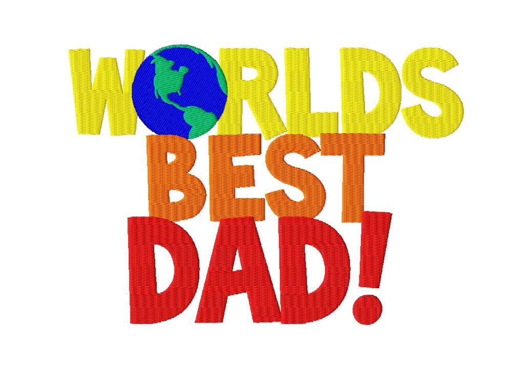 1038x721 Worlds Best Dad Machine Embroidery Design Blasto Stitch