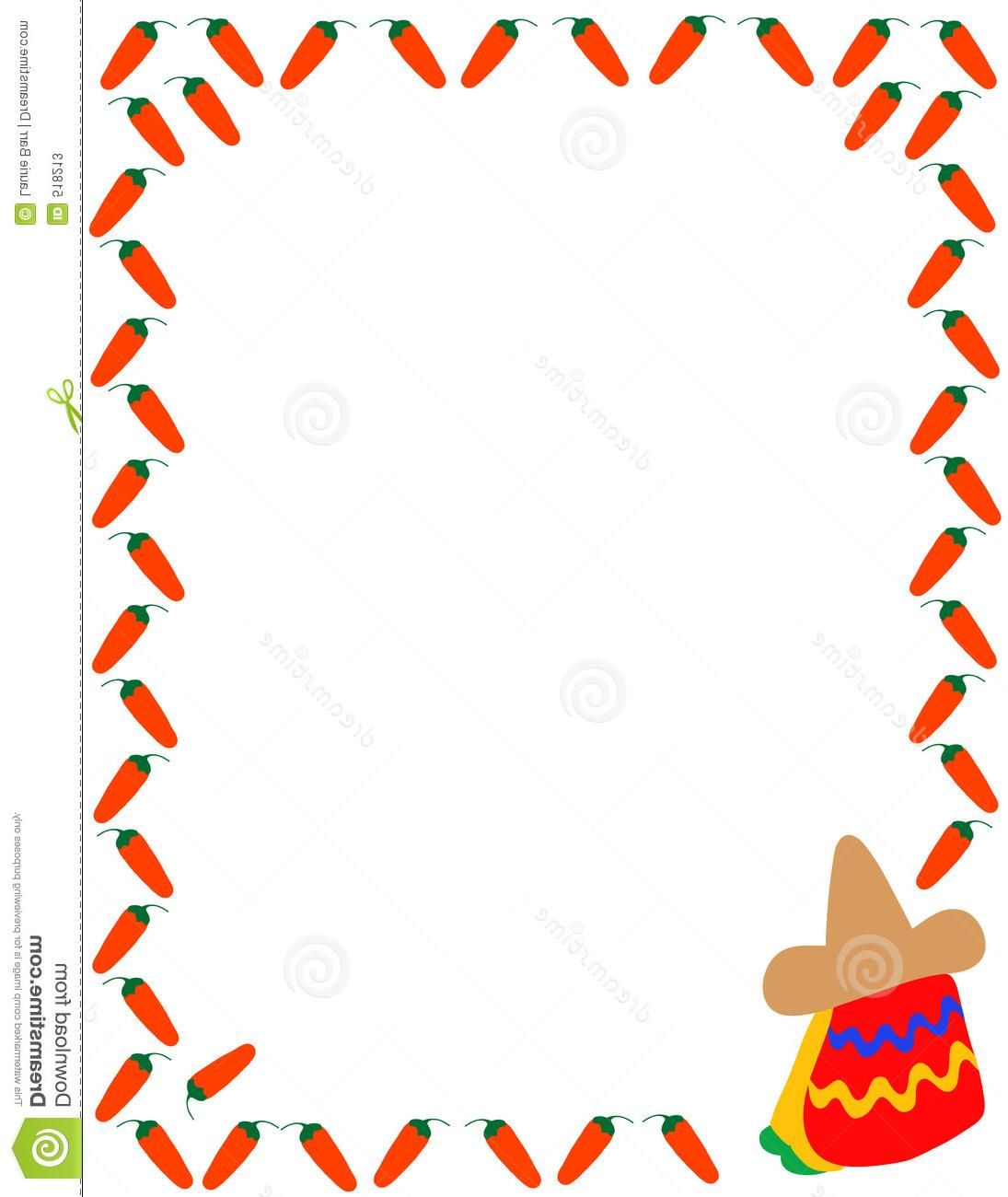 1095x1300 Clip Art Mexican Borders Best Free Clipart Border Drawing