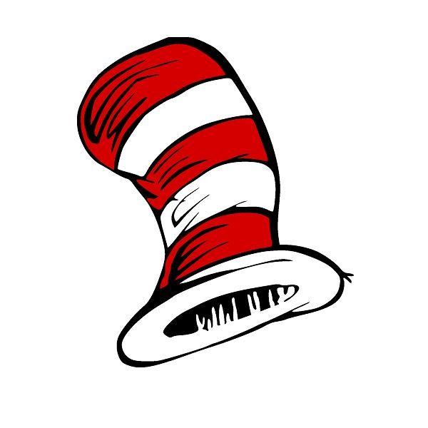 600x600 Surprising Cat In The Hat Clipart Dr Seuss Clip Art 104857 Free