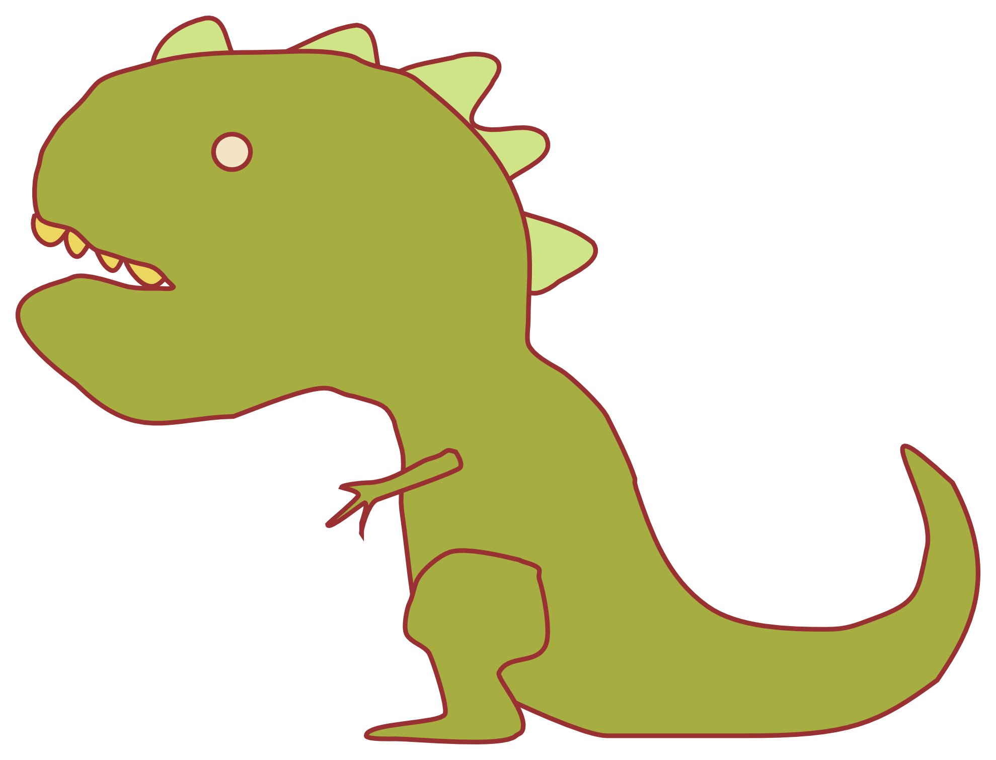 1979x1510 Dinosaur Clip Art Hd Images Download