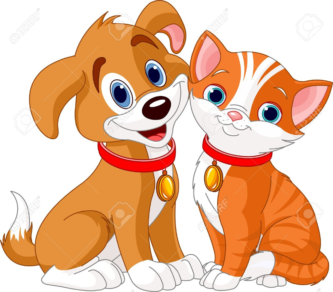 1300x1141 Cat And Dog Clipart Gallery Images)