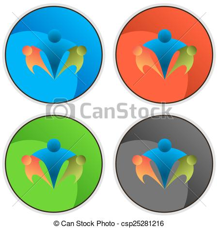 450x470 An Image Of A Best Friend Network Icon. Vector Clip Art