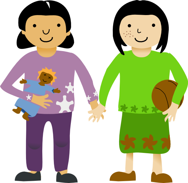 600x584 Friendship Clipart Png