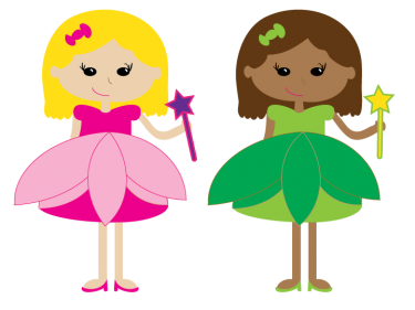 375x281 Pretty Princesses Best Friends Forever Clipart Pink N Green