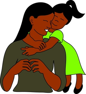 277x300 Gallery Black Mother Daughter Clip Art,