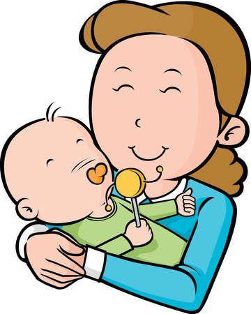 360x450 Best Mother Cartoon Mom