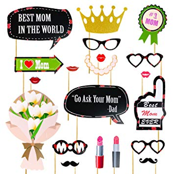 355x355 Mother's Day Photo Booth Props