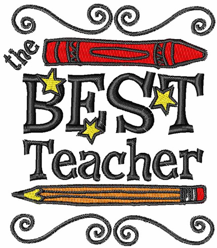 439x500 The Best Teacher Embroidery Designs, Machine Embroidery Designs