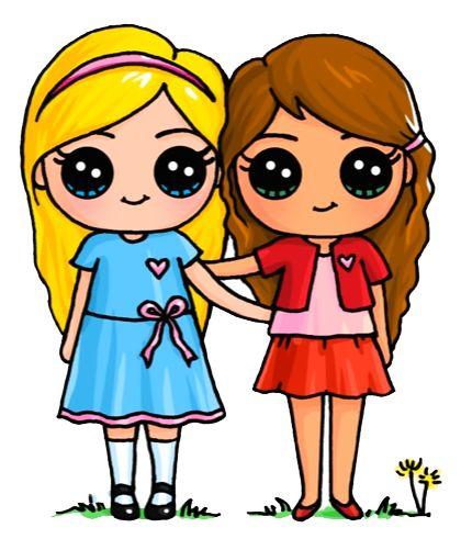 420x491 Cartoon Friendship Image Group