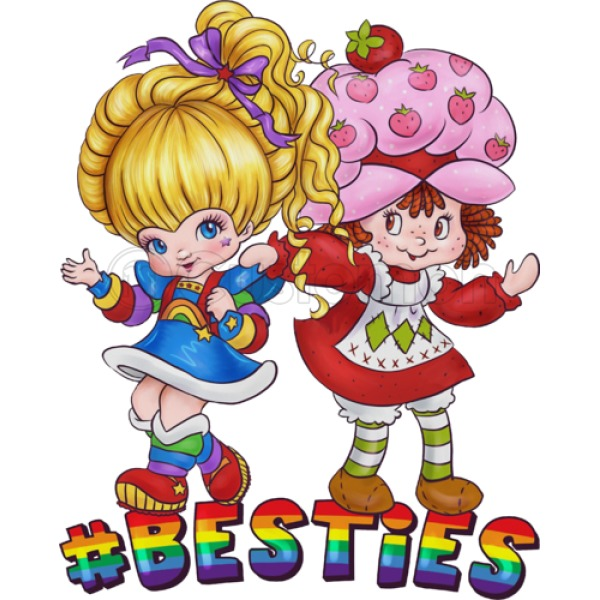 600x600 Rainbow Brite Besties Men's Tank Top