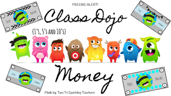350x197 Updated Class Dojo Money Freebie (Dollars) By The Teacher Besties