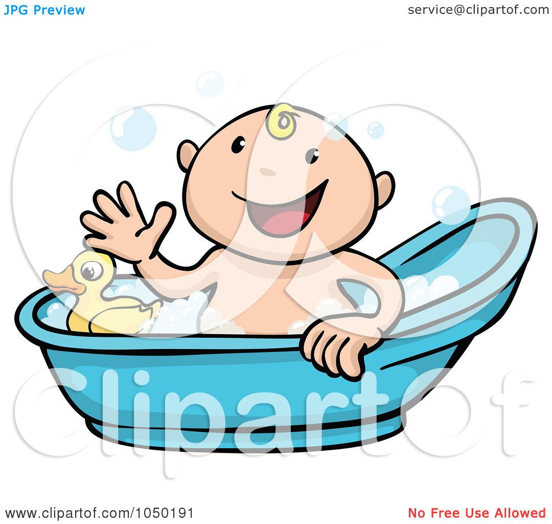 1080x1024 Royalty Free (Rf) Cliprt Illustration Of Happy Baby Taking