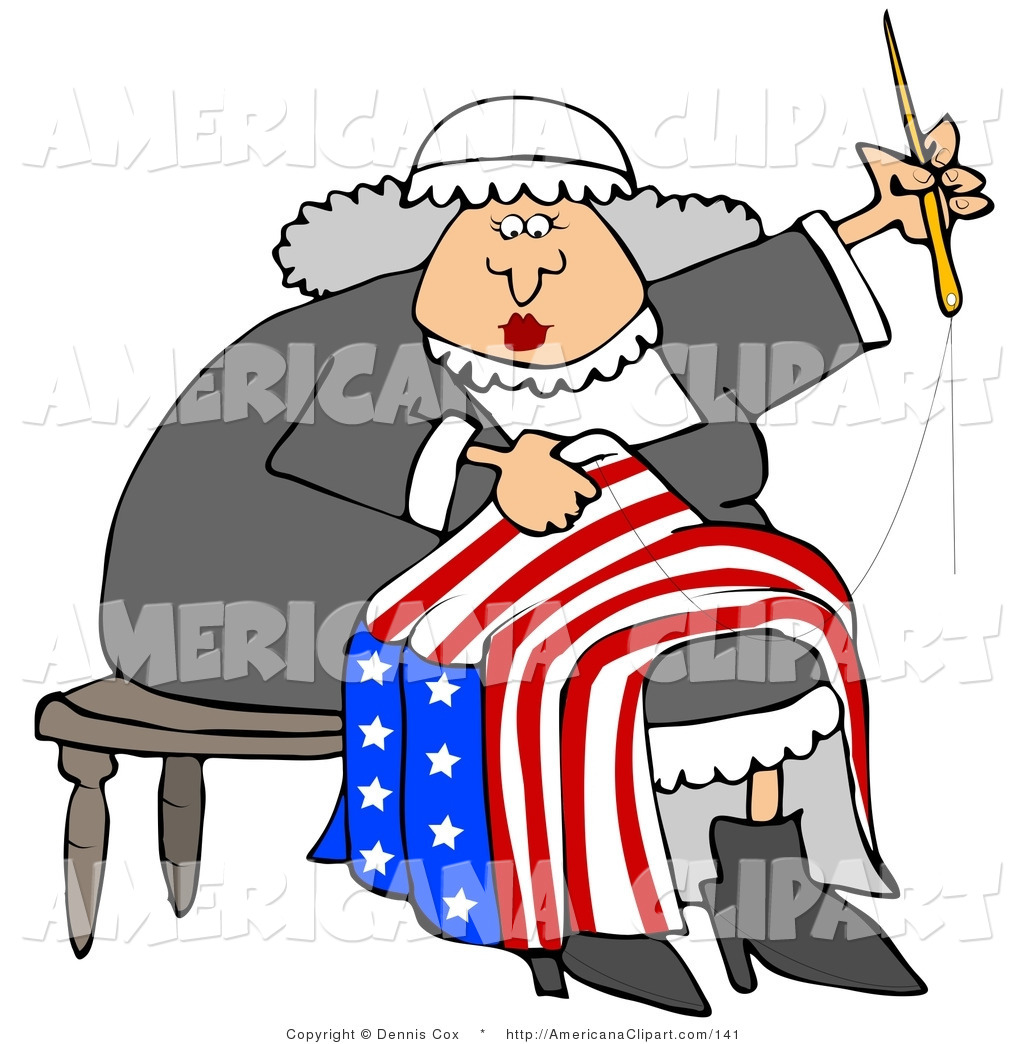 1024x1044mericana Vector Cliprt Ofn Elderly Betsy Ross Sitting On
