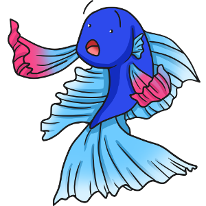 300x300 Betta Clipart Color Fish