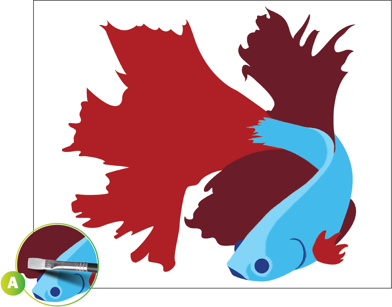 1540x1208 Betta Clipart Color Fish