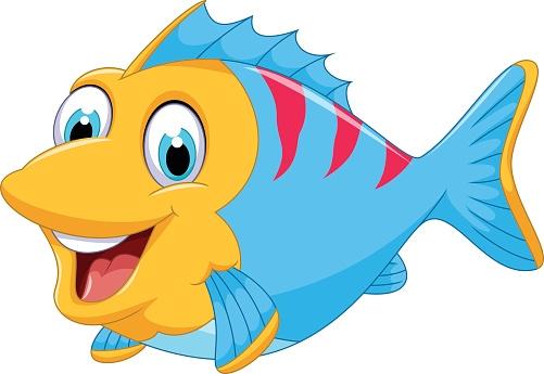 501x345 Cute Fish Clip Art