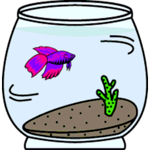 300x300 Fish Bowl Clipart Cliparts Of Free Download Wmf