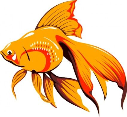 425x393 Golden Fish Clip Art Clip Art Golden Fish, Clip