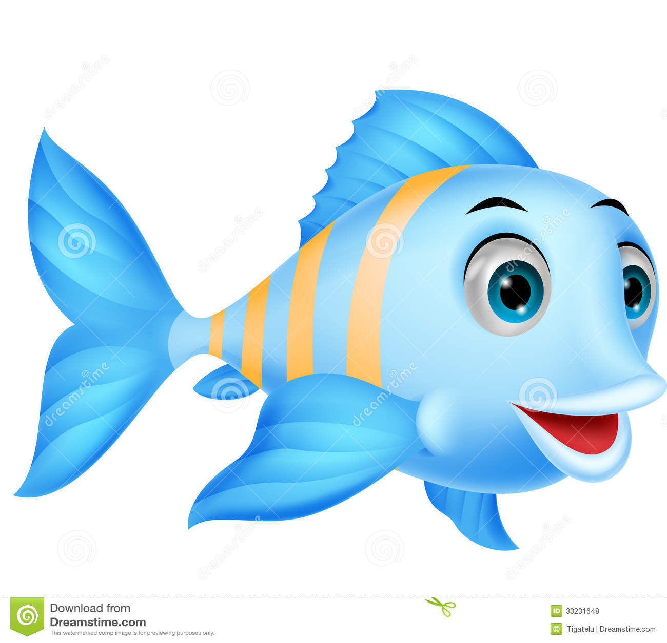 1300x1255 Homey Fish Cartoon Images Free Cute Stock Vector Illustration