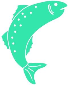 239x300 Jumping Fish Clip Art 101 Clip Art