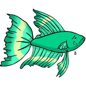300x300 Tropical Fish Clipart Betta Fish